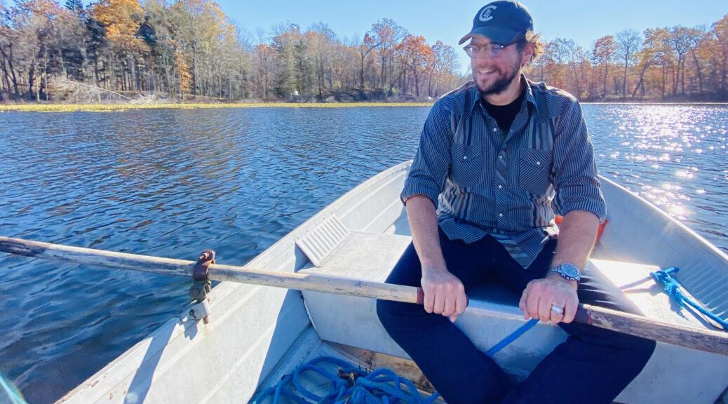 Rowing on Lake Four