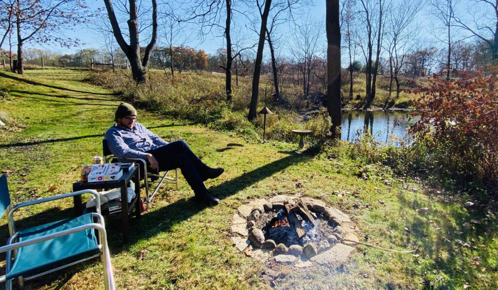 GilChrist campfire